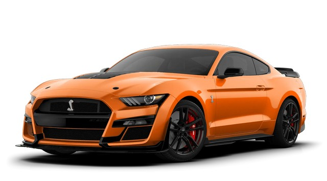 2021 Mustang GT500 Twister Orange Colors