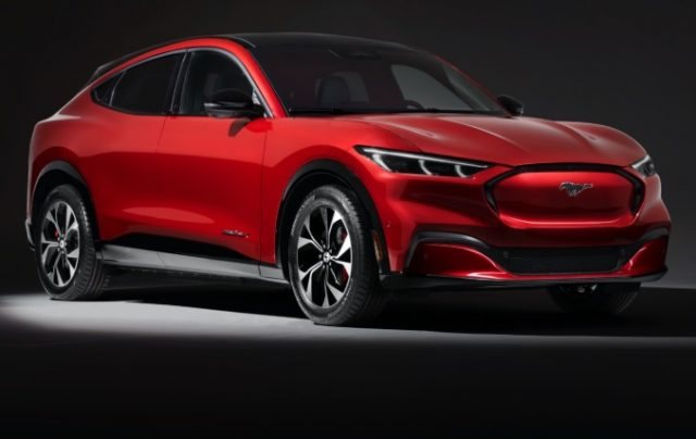2021 Mustang Mach-E Electric Cars