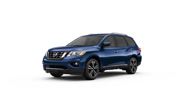2021 Nissan Pathfinder Caspian Blue Metallic Colors