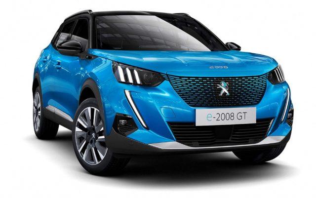 2021 Peugeot e-2008 Electric Cars