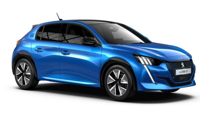 2021 Peugeot e-208 Electric Cars