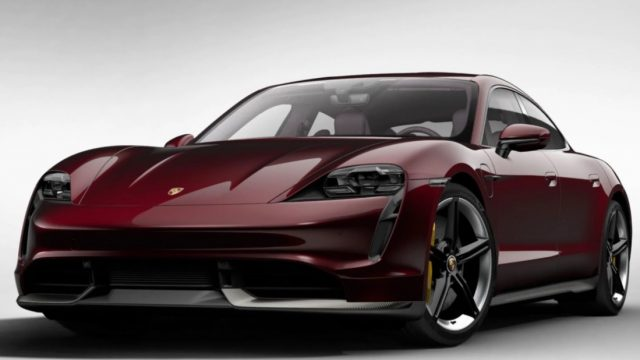 2021 Porsche Taycan Electric Cars