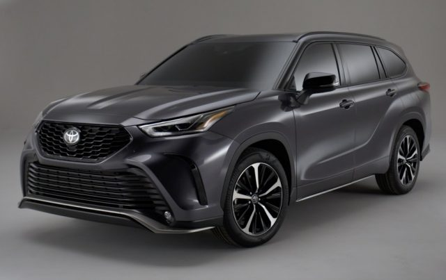2021 Toyota Highlander Colors