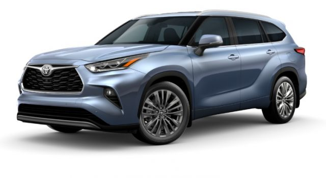 2021 Toyota Highlander Exterior Colors Moon Dust