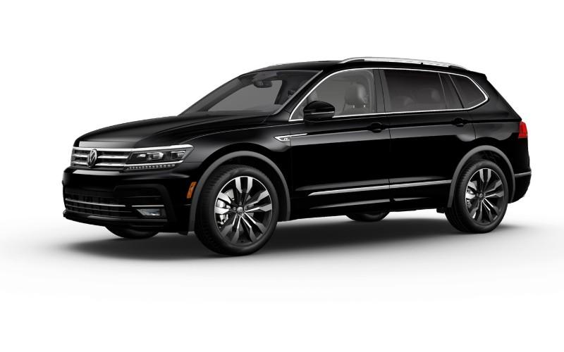 2021 VW Tiguan Deep Black Pearl Colors