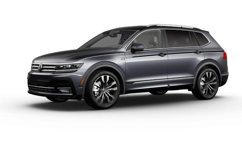 2021 VW Tiguan Platinum Gray Metallic Colors