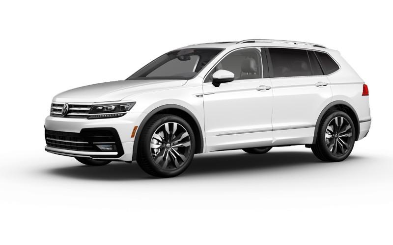 2021 VW Tiguan Pure White Colors