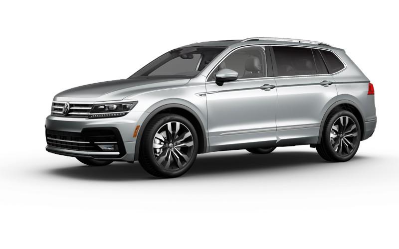 2021 VW Tiguan Pyrite Silver Metallic Colors