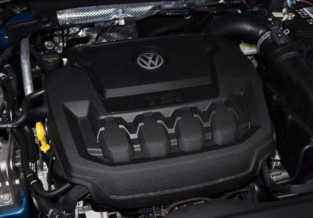 2021 Volkswagen Tayron X Engine