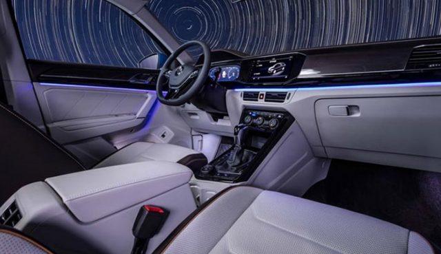 2021 Volkswagen Tayron X Interior