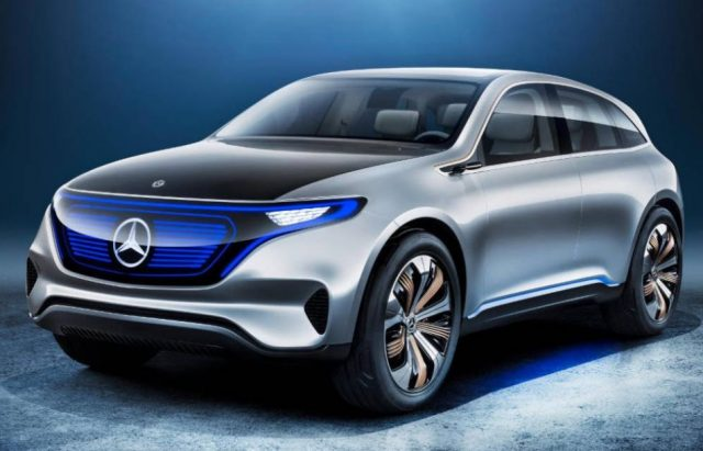 2022 Mercedes-Benz EQC Electric SUVs