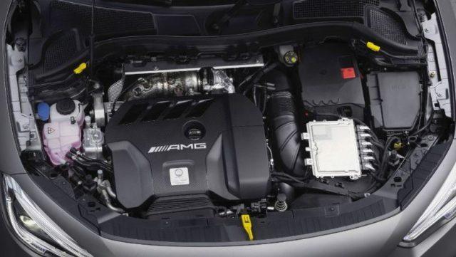 2022 Mercedes GLA Engine