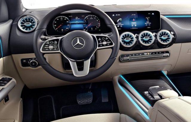 2022 Mercedes GLA Panel Dashboard