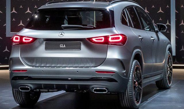 2022 Mercedes GLA Rear Body