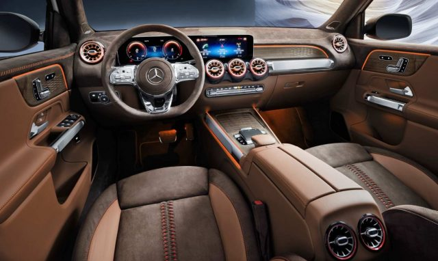 2022 Mercedes GLB Interior