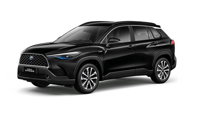 2022 Toyota Corolla Cross Attitude Black Mica Colors