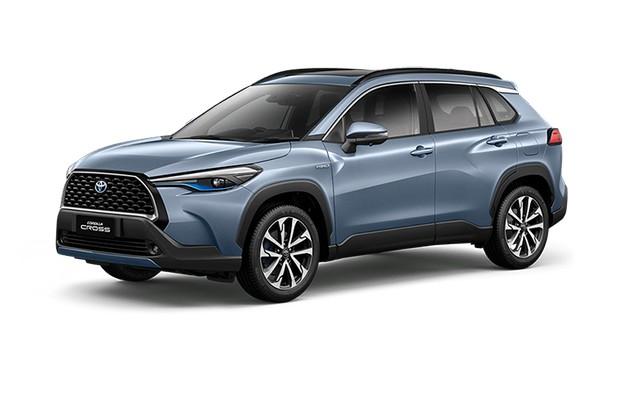 2022 Toyota Corolla Cross Celestite Gray Metallic Colors