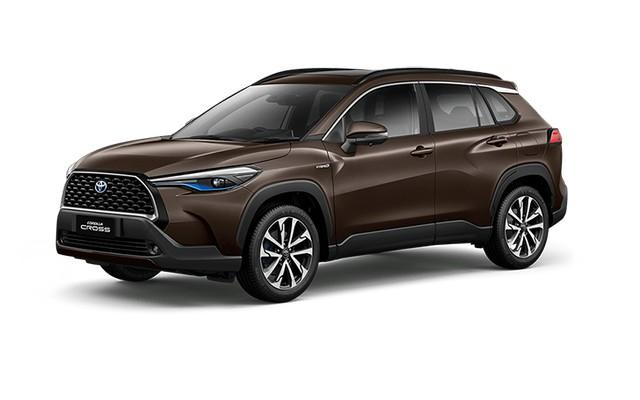 2022 Toyota Corolla Cross Graphite Metallic Colors