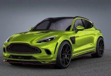 Aston Martin DBX SUV Exterior