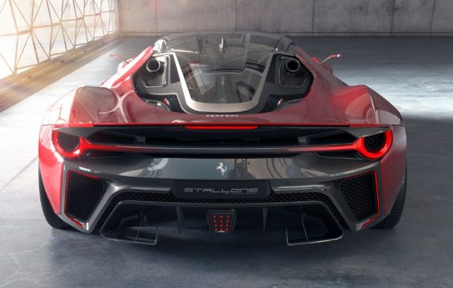 Ferrari Stallone Rear Wheels