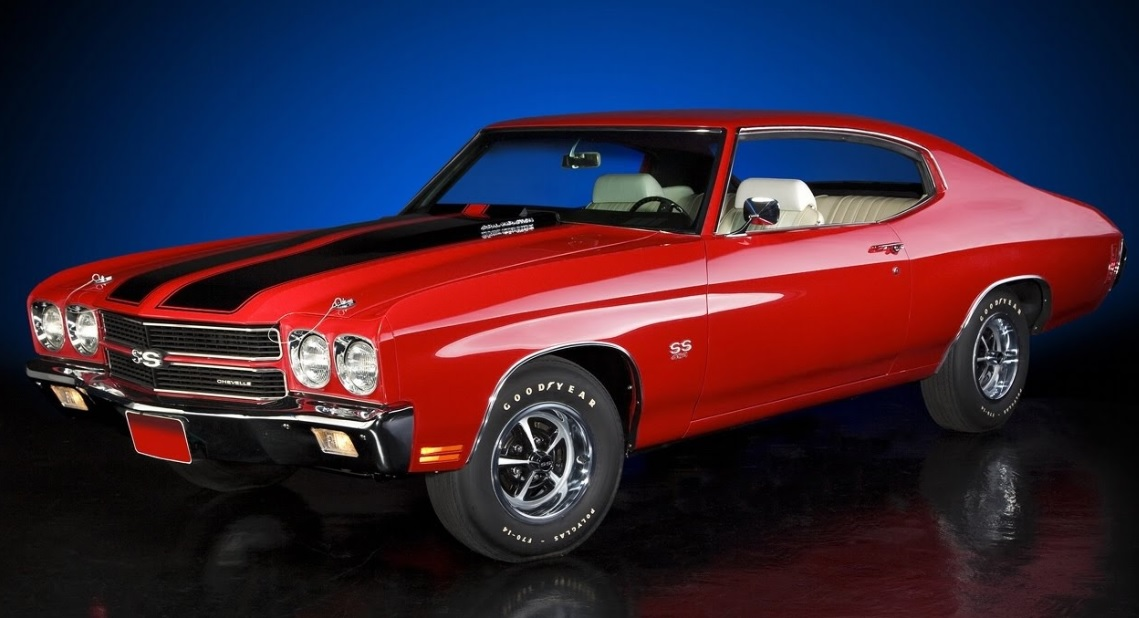 Muscle Cars Chevrolet Chevelle SS 454 1970