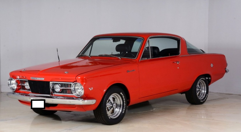 Muscle Cars Plymouth Barracuda 1964
