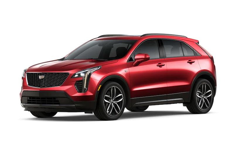 2021 Cadillac XT4 Exterior Colors