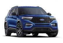 2021 Ford Explorer Exterior Colors