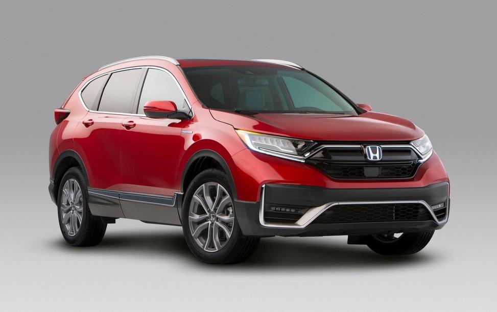 2021 Honda CR-V Hybrid Exterior