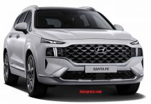 2021 Hyundai Santa Fe Exterior Colors