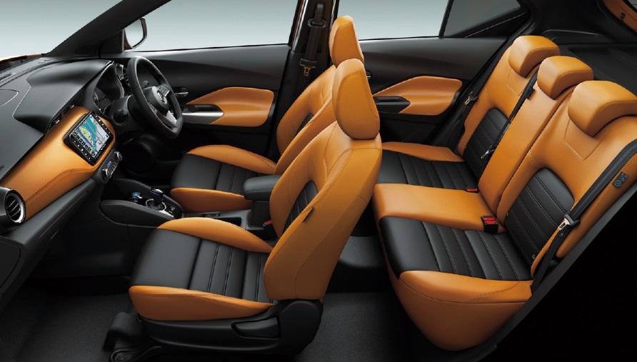 2021 Nissan Kicks E Power EV Interior