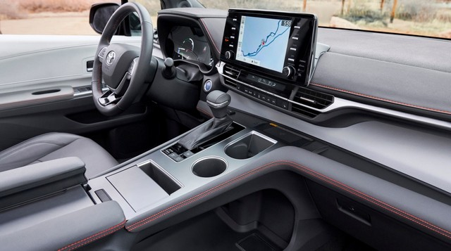 2021 Toyota Sienna Hybrid Interior Colors