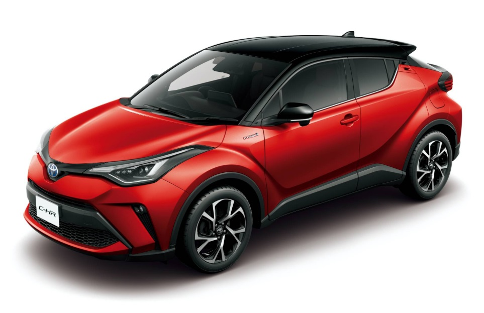 2021 Toyoya C-HR Exterior Colors
