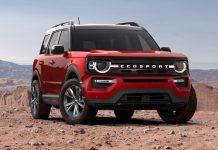 2022 Ford Ecosport Redesign Exterior