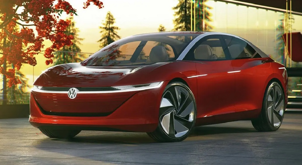 2023 VW Passat Electric Redesign