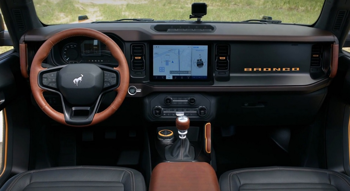 2021 Ford Bronco Interior Colors
