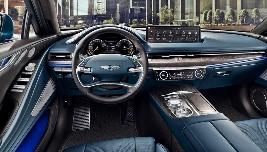 2021 Genesis G80 Interior Colors