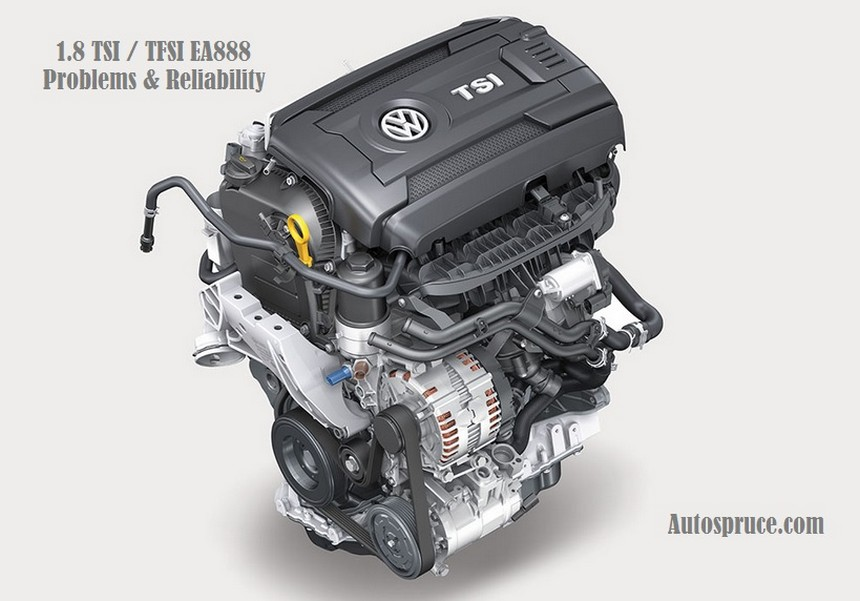 1.8 TSI 1.8 TFSI EA888 Engine Review Problems Reliability