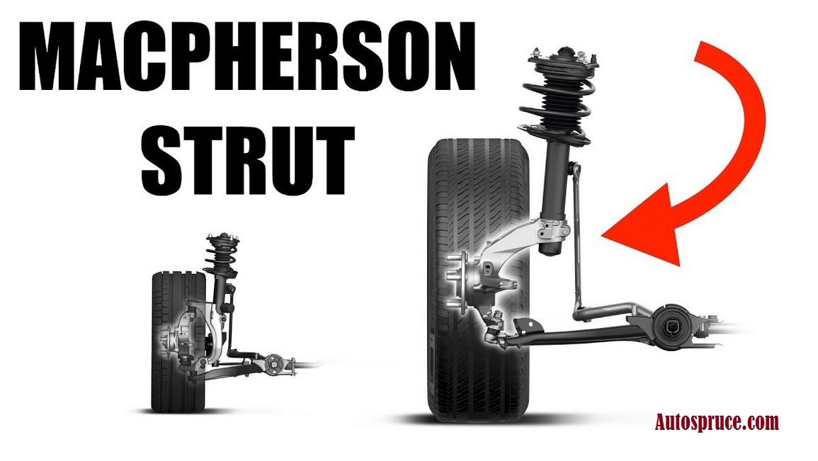 MacPherson Strut Suspension System Advantages Disadvantages