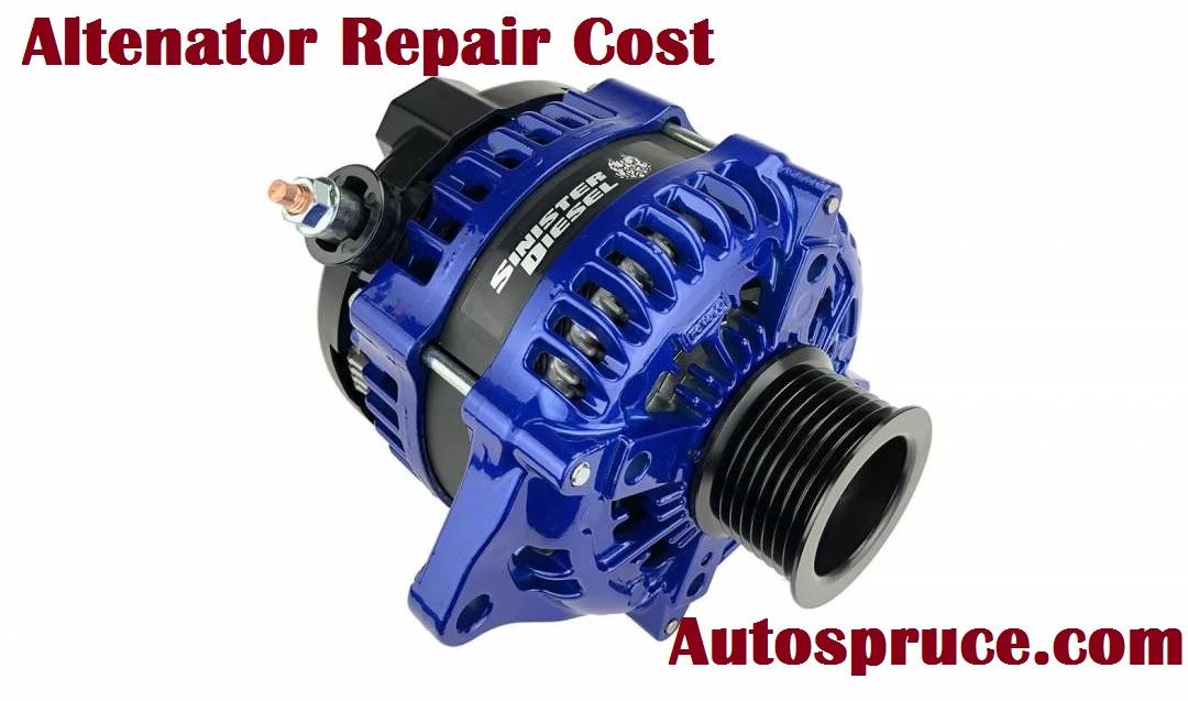 Altenator Repair Replacement Cost