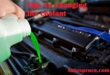 Tips Changing the coolant