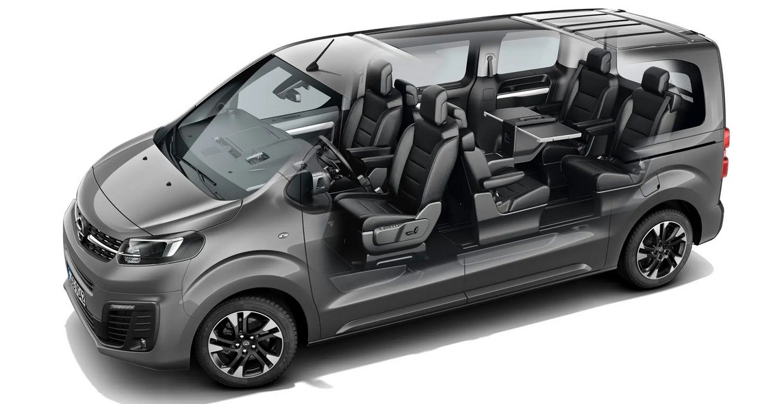 7-Seater SUV Opel Zafira